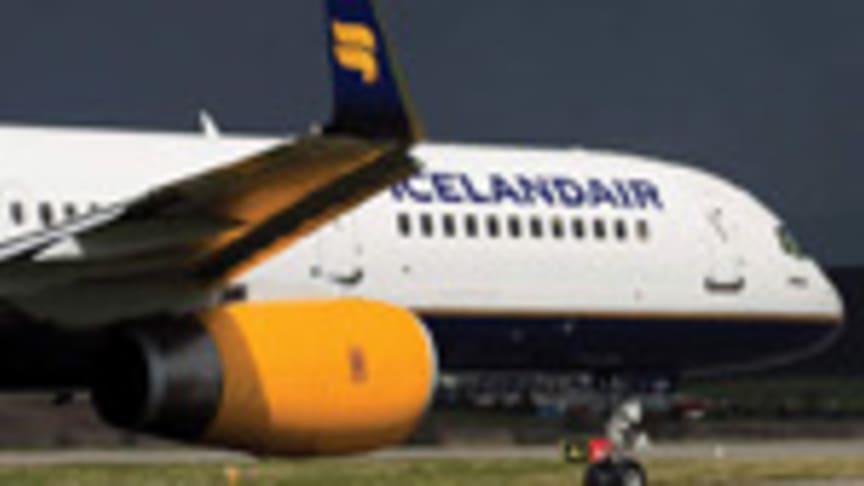 Icelandair Group offentliggør meget postivt resultat for tredje kvartal 2012