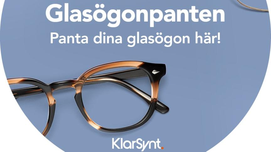 KlarSynt lanserar glasögonpant - med fokus på återanvändning i utvecklingsländer