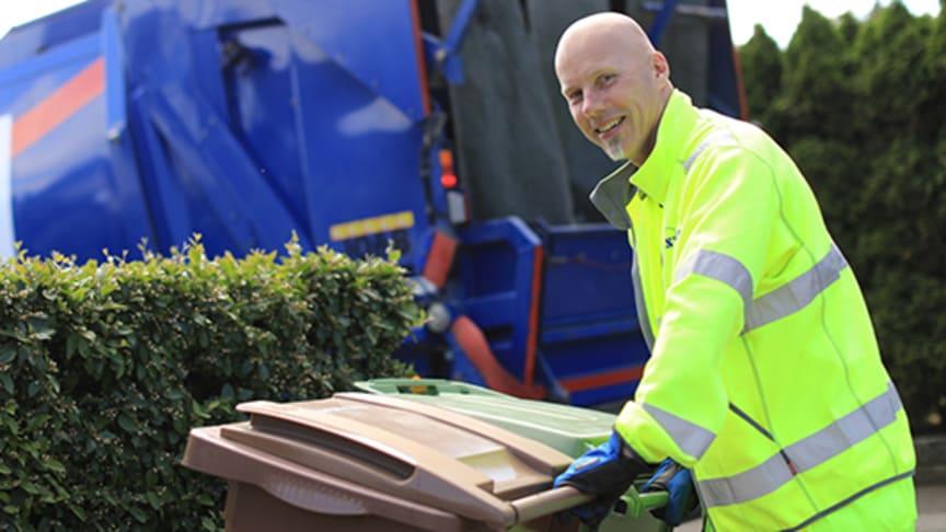 Ändrad sophämtning och öppettider på återvinningscentralerna i påsk.