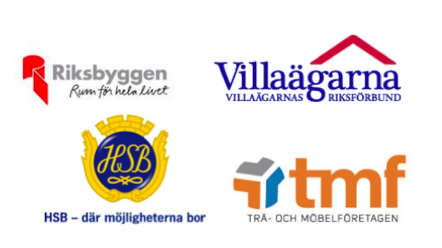 Riksbyggen, Villaägarna, HSB och Trä- och Möbelföretagen föreslår gynnat bosparande för unga
