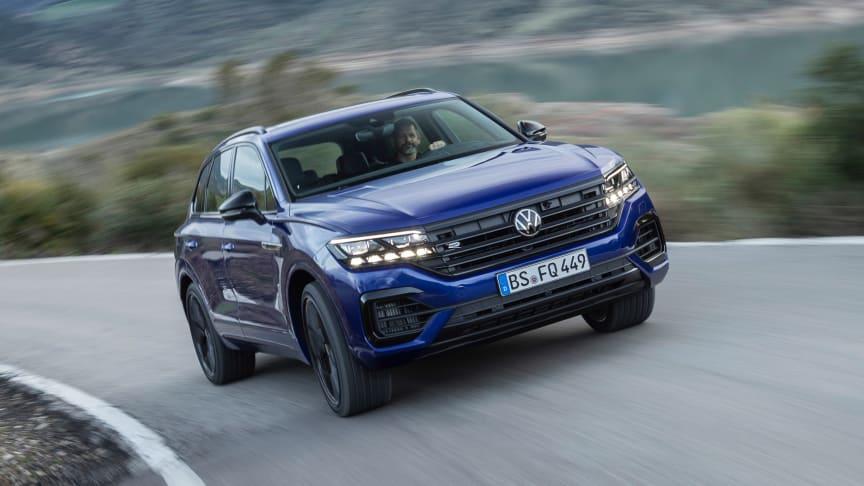 Verdenspremiere på Genéve Motor Show – Touareg R plug-in-hybrid med 462 hk