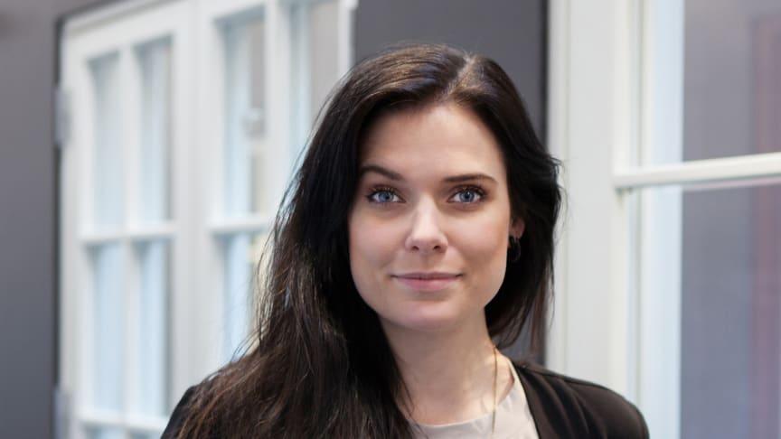 Heidi Ekstrand, VD för  Ekstrands Dörrar & Fönster AB