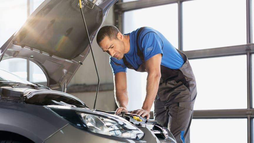 Onko autosi seissyt pitkään paikoillaan? Näillä Fordin ohjeilla otat sen turvallisesti käyttöön.