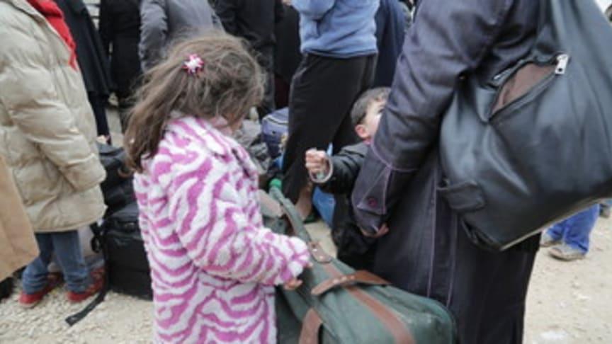 Rädda Barnen kommenterar nya siffror från UNHCR: Över en miljon syriska flyktingar och hälften av dem är barn