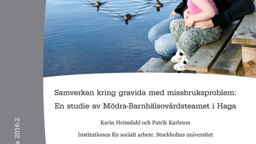 Ny rapport från Nka: Samverkan kring gravida med missbruksproblem: En studie av Mödra-Barnhälsovårdsteamet i Haga