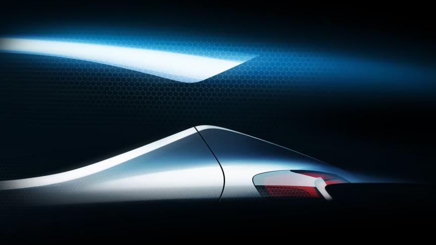 Hyundai teasar om ny europeisk bilmodell.