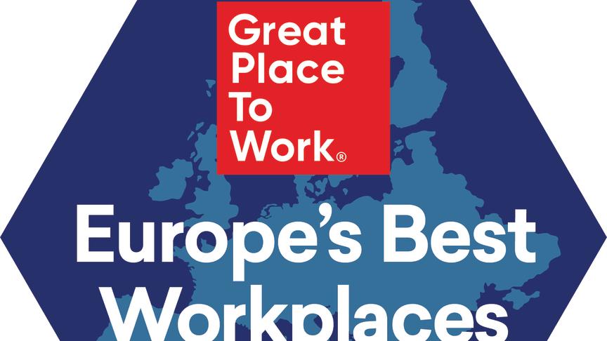 Great Place to Work Legend Centiro i topp bland Europas bästa arbetsplatser