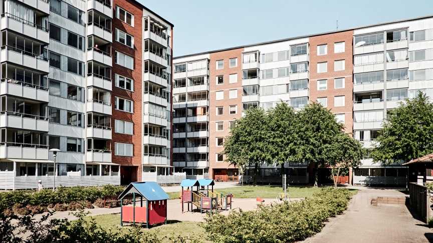 HSB Skånes hyresfastighet kv. Soldiset, på Klostergården i Lund.