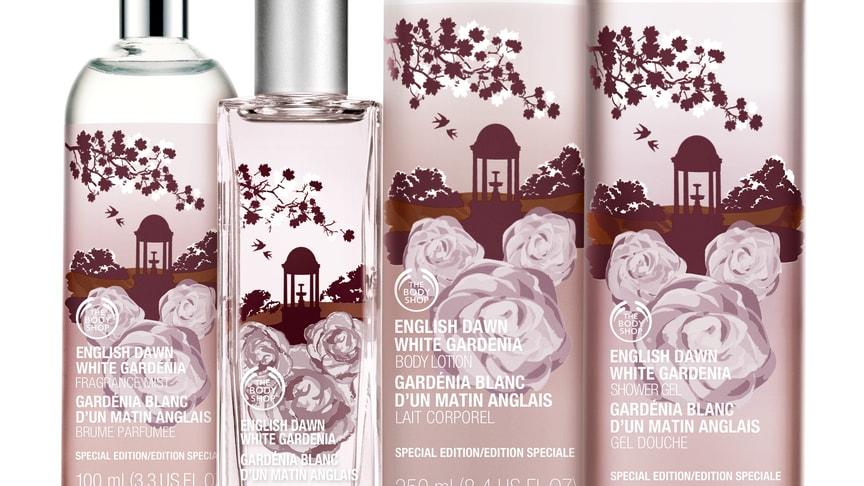 The Body Shop lanserar Special Edition English Dawn White Gardenia