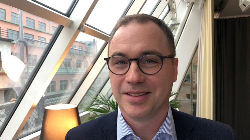 Lage Backlund, HR-chef Forsen