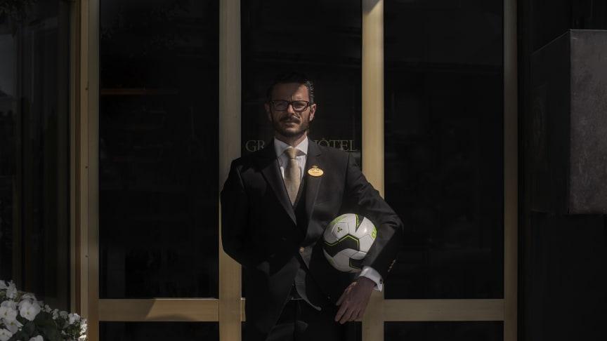 Grand Hôtel bjuder in till fotbollsfest