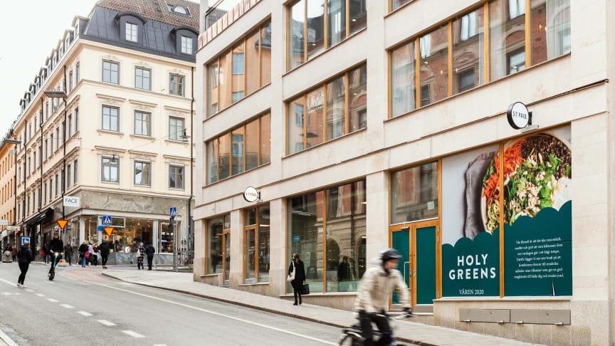 Holy Greens nya restaurang på Götgatan 20