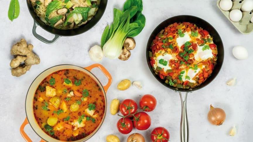 Recept: Onepot på tre vis