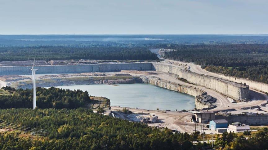 Cementa välkomnar beslut om fortsatt kalkstensbrytning på Gotland