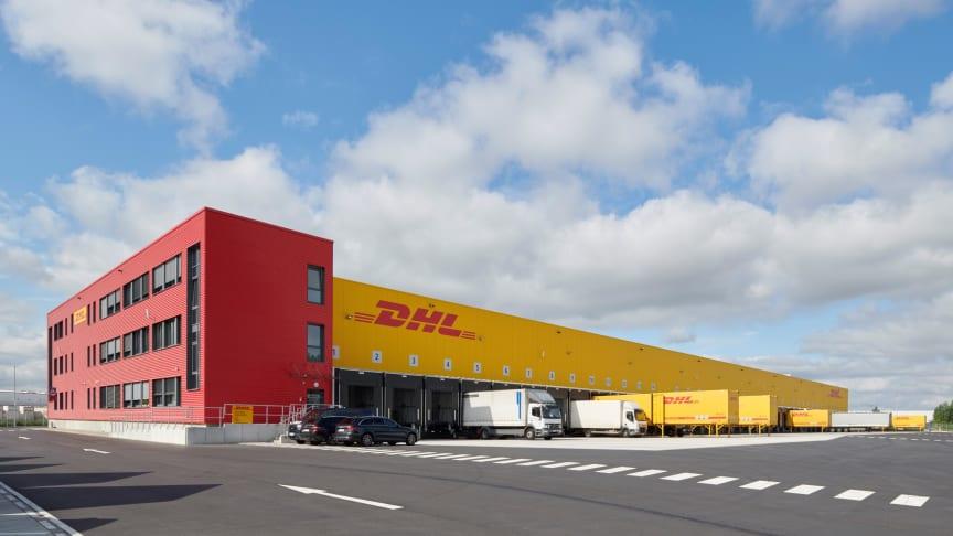 DHL Freights nya fraktcentrum i Hannover-Langenhagen i Tyskland