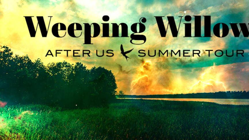 """Weeping Willows på sommarturné – imorgon släpps de första biljetterna till """"After Us Summer Tour"""""""