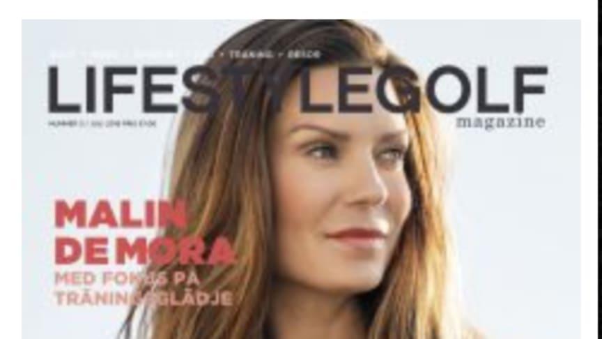 Daily Sports ambassadör Malin de Mora intervjuas med fokus på träningsglädje i Lifestylegolf.