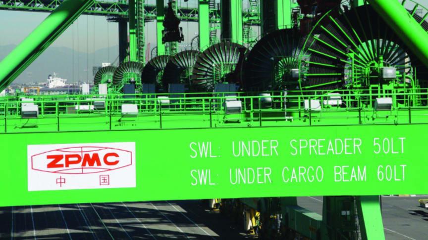 Partnerships strengthened in port equipment orders