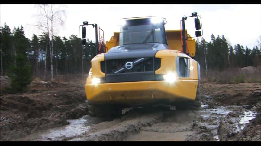 Film på Volvo A60H - maximal tillgänglighet