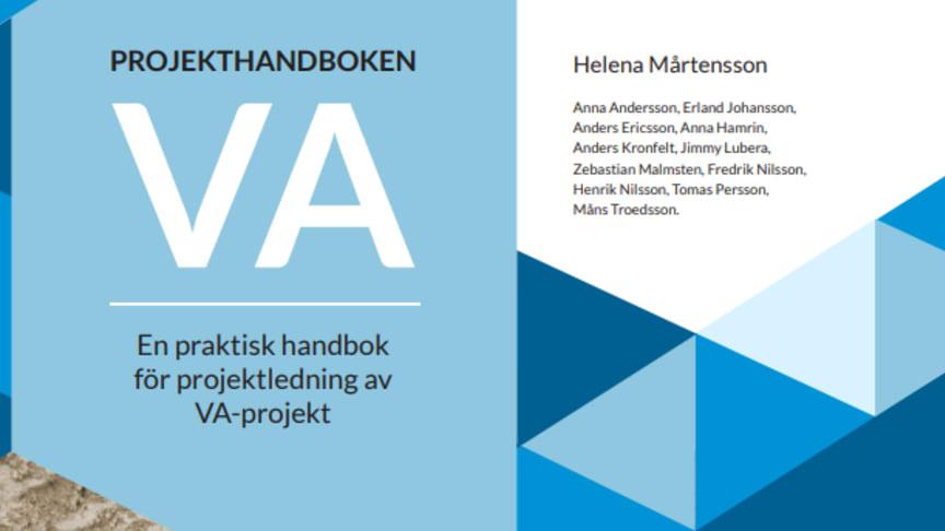 Ny C-rapport från SVU: Projekthandboken VA