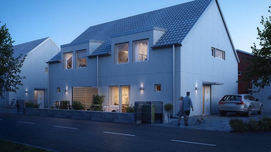 Södra Sommarro, Karlstad, Riksbyggen