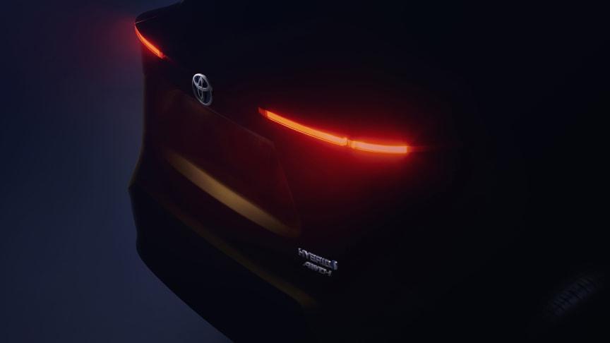Toyota på bilutstillingen i Geneve 2020