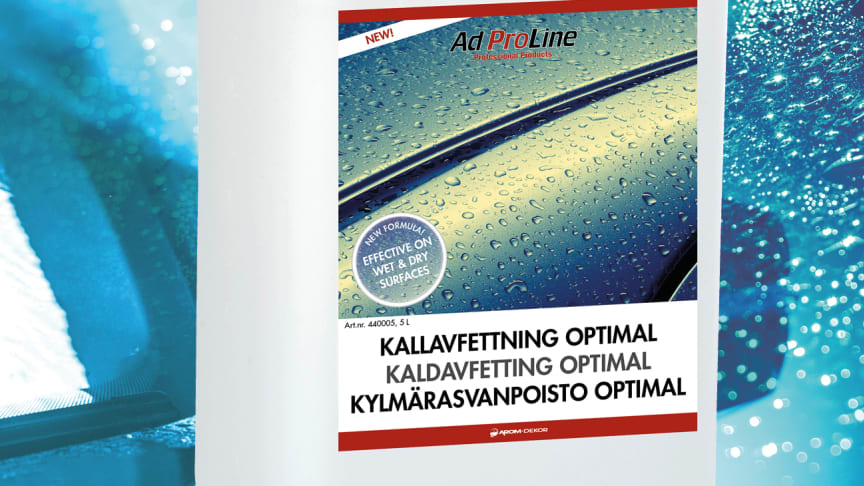 AdProLine® Kallavfettning Optimal