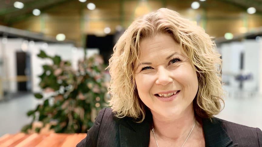 Sussi Wikström, projektledare Nolia Beer är nöjd över att mässan kan hållas i Luleå i november.