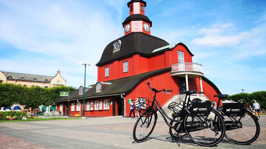 Hyrcyklar i Lidköping hållbart resande
