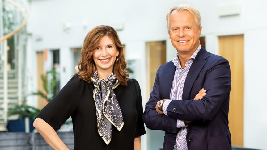 Susanne Hallencreutz och Peter Wanderytz, Nordic Live Expo.