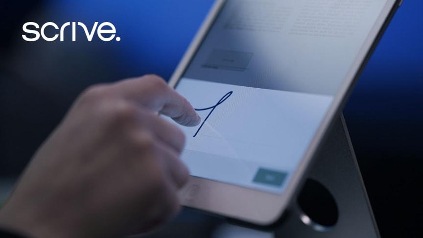 Scrive ingår samarbete med Kivra