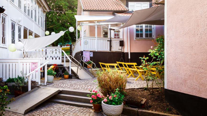 Rosa Gården, Kommendantsbacken 6, Visby