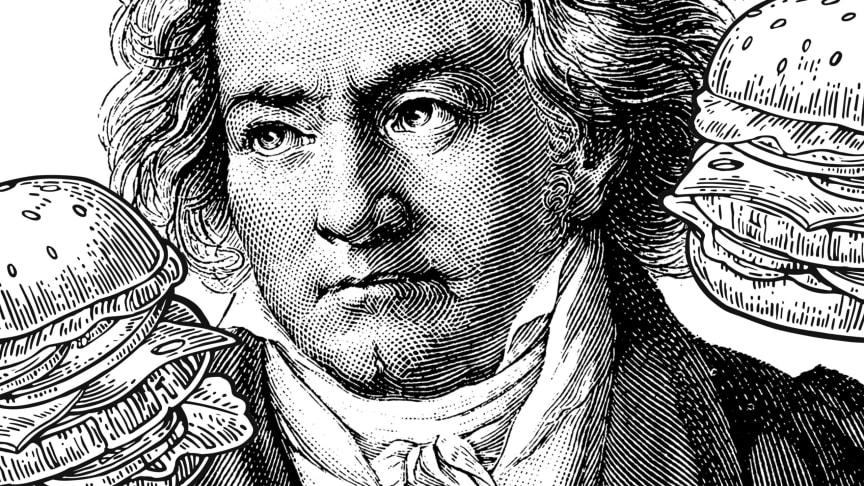 Beethoven 250 år firas med burgare och öl på konserthuset