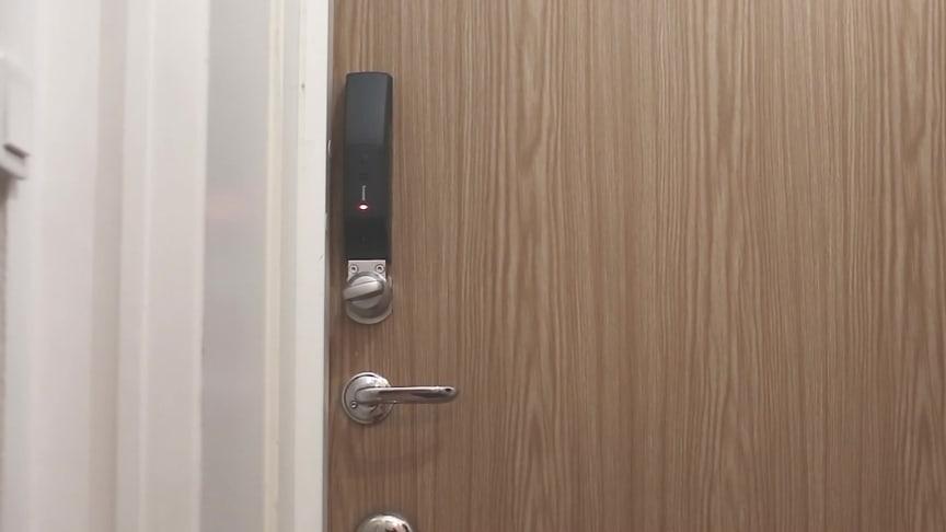 AddMobiles ID06 Smartlås, så fungerar produkten.