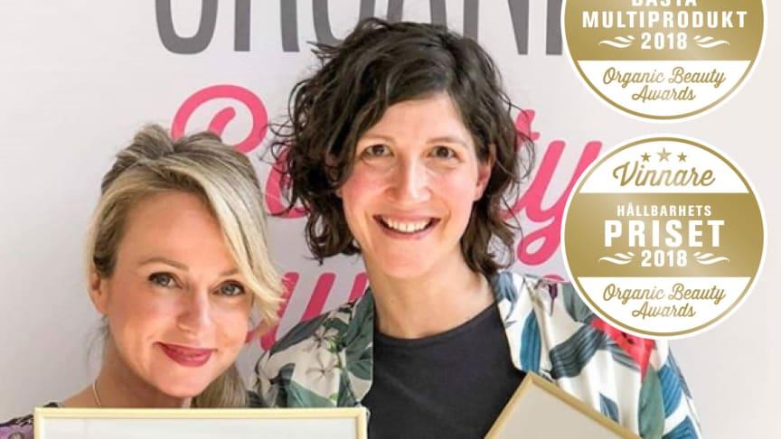 Weleda vinnare i Organic Beauty Awards 2018