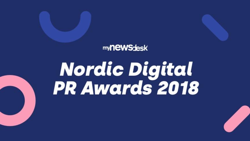 Tässä ovat Nordic Digital PR Awards 2018 -ehdokkaat
