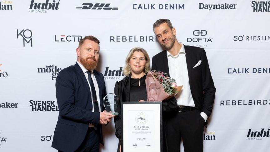 Dan Crewe, DHL Express, Victoria Jansson, Hestra-Handsken och Patrik Andreasson, Tullkompetens AB