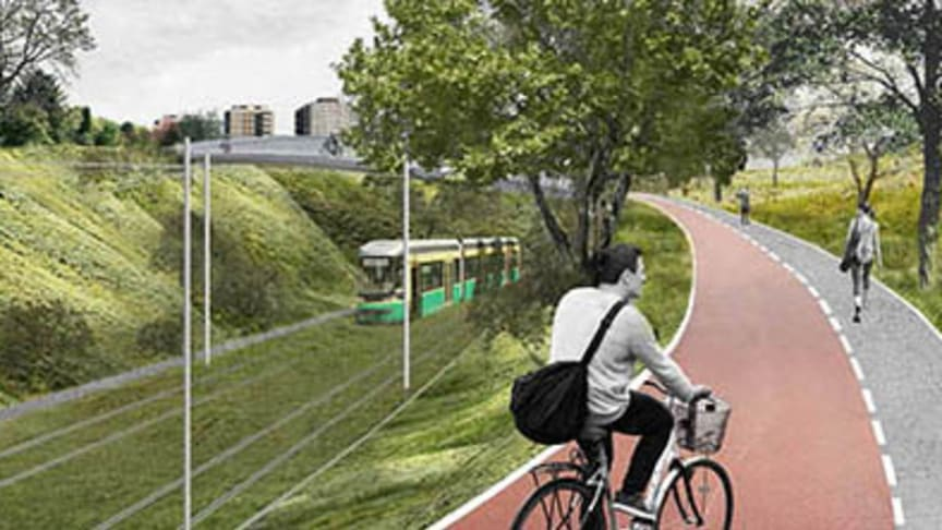 Havainnekuva: Helsingin kaupunkiympäristön toimiala/MASU Planning