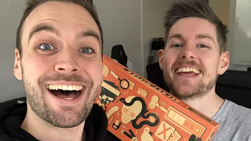 Youtube-duon ArgaSkånskaMän livesänder en brädspelsstream lördag 22/2 kl 18:00 med Estrella Crispy Bacon & Sourcream