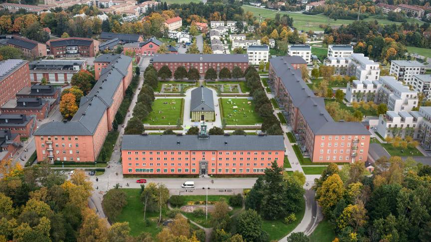 Första spadtaget för studentbostäder i Klockhusparken, Brommas nya Beckomberga.