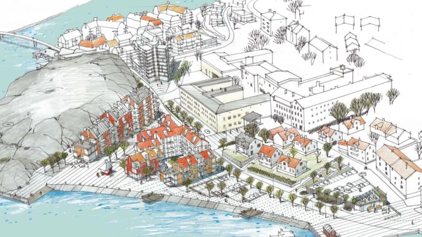 Riksbyggen utvecklar ny stadsdel i Strömstad med 430 bostäder