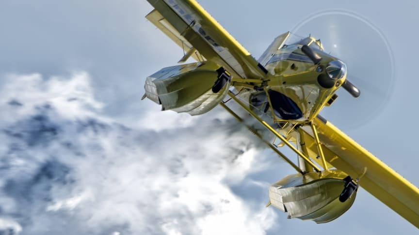 Flygplanen är av typen Air Tractor AT-802 Fire boss. Flygplanen kan släppa 3 000 liter vatten per fällning.