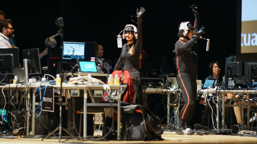 Experience virtual reality (VR) at SIGGRAPH Asia, 17-20 November 2019, BCEC in Brisbane, Qld. Photograph: The Real-Time Live! program at SIGGRAPH Asia 2018, Tokyo, Japan