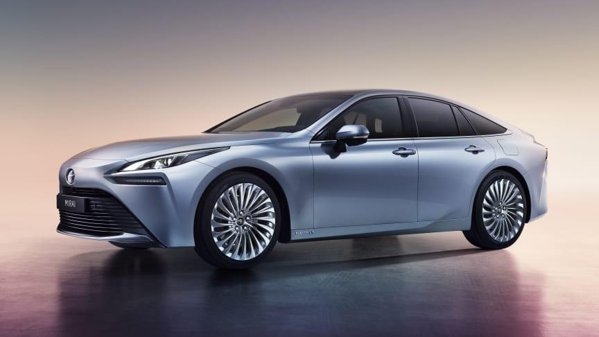 Nye Toyota Mirai kommer til Norge i første kvartal 2021