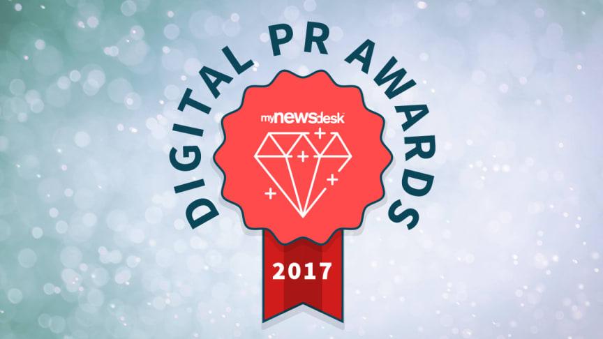 Årets nyhetsrom får en oppgradering og bytter navn. Velkommen til Mynewsdesk's Digital PR Awards!