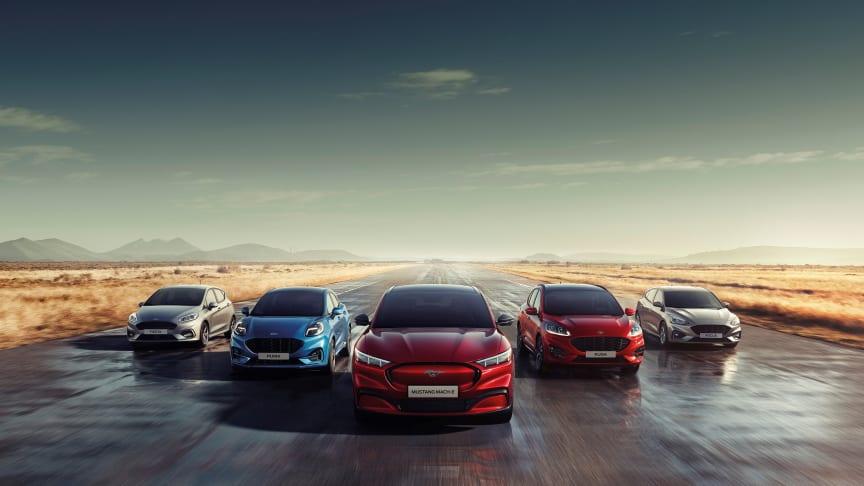 Bring on Tomorrow: Ford afslører stilskifte med fokus på fremtiden