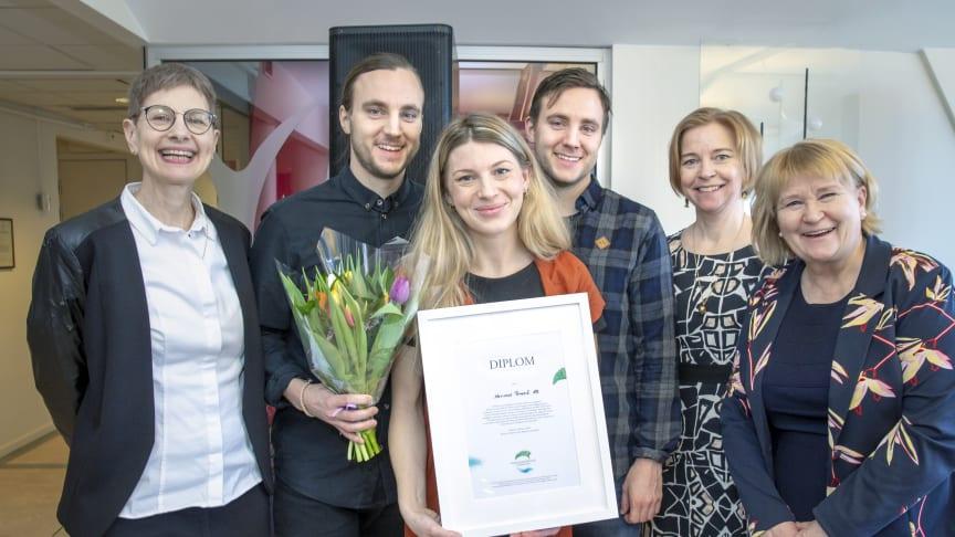 Anna Borgeryds minnesfond första stipendium går till klimatsmart matproduktion
