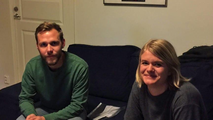 Linus Lundby och Kerstin Isaxon. Foto: Splitvision Research