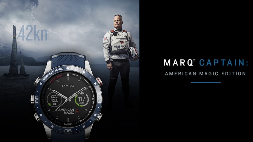 Garmin® MARQ® Captain: American Magic Edition