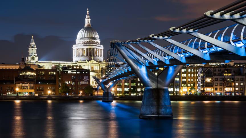 LONDON CALLING: IDTs spesiallagde grenstaver skal i fremtiden spre strøm i britiske næringsbygg. FOTO: Shutterstock